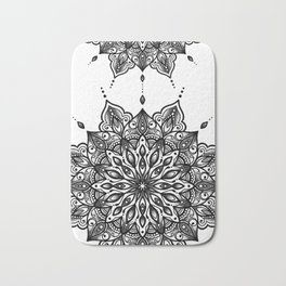 monika's mandala towel Bath Mat