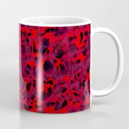 Red Leopard Coffee Mug