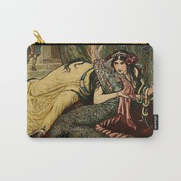 """""""Marina Fondled the Fiery Dragon"""" by Frank C Pape Carry-All Pouch"""