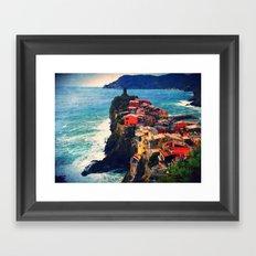 Cliff Living Framed Art Print