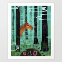 Gift Horse Art Print