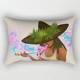 Weed Witch Rectangular Pillow