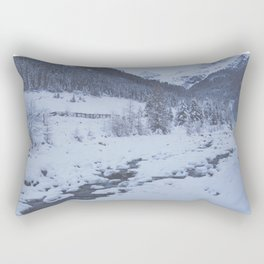 deepest winter Rectangular Pillow