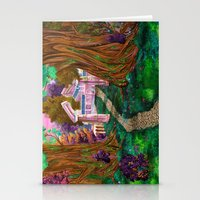 warcraft Stationery Cards featuring Welcome in Darnassus by Studinano by Shou'