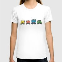 cars T-shirts featuring Cars by Sol Fernandez