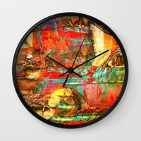 cuba Wall Clocks featuring Cuba Libre by Fernando Vieira