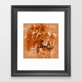 Rusty ghost wreck Framed Art Print