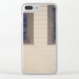 Green Windows Clear iPhone Case