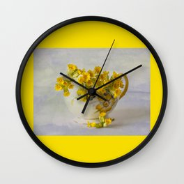 Cowslips Wall Clock