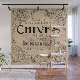 Chives Wall Mural