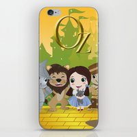 oz iPhone & iPod Skins featuring Oz by 7pk2 online