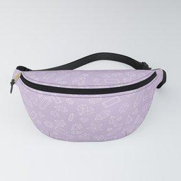 Purple Gem Pattern Fanny Pack