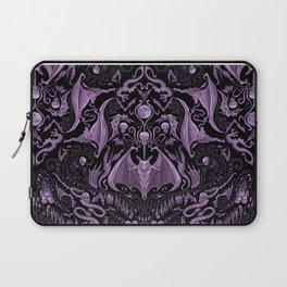 Bats and Beasts (Purple) Laptop Sleeve