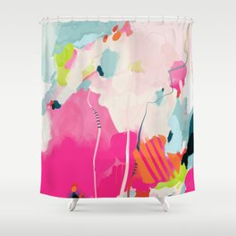 pink sky II Shower Curtain