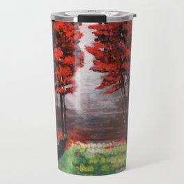 Red Tree Forest <3 Travel Mug