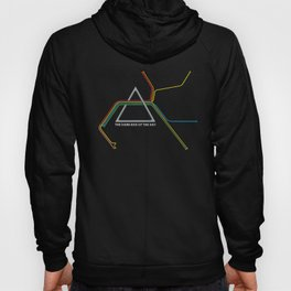 Dark Side of the Bay (classic font) Hoody