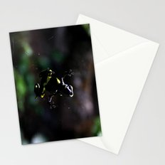 Poison Dart Frog- Leucomelas Belly Stationery Cards