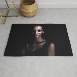 Lady in the night Rug