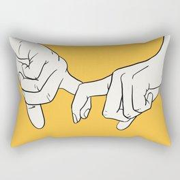 HANDS 5 Rectangular Pillow