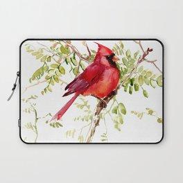 Northern Cardinal, cardinal bird lover gift Laptop Sleeve