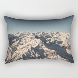 Lord Snow - Landscape Photography Rectangular Pillow