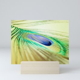 AFE Peacock Feather Mini Art Print