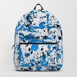 Black & Blue Backpack