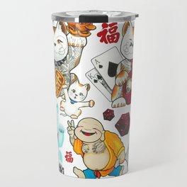 Super Lucky Pattern Travel Mug