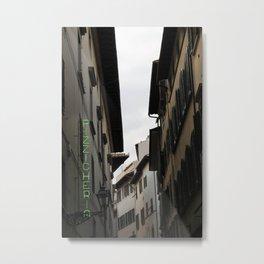 Pizzicheria Metal Print
