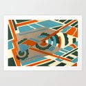 Art Deco 2 Pattern by robincurtiss