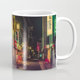 Deserted Japan Street/ Anthony Presley Photo Print Coffee Mug