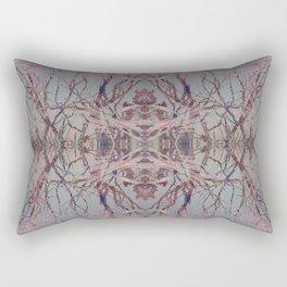 Pink fire geometry III Rectangular Pillow