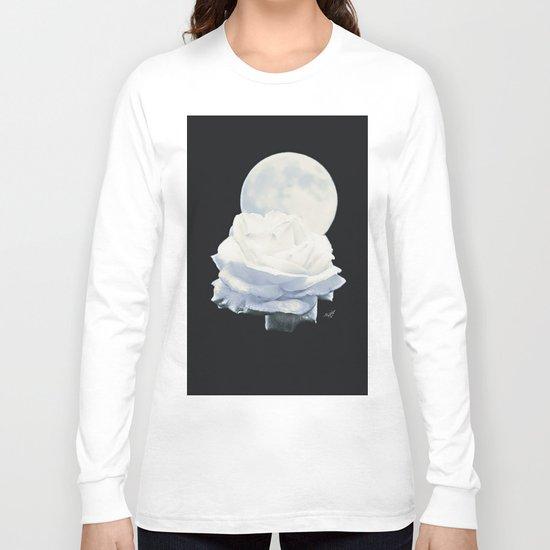 Moon Rose (2) Long Sleeve T-shirt