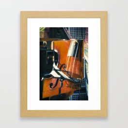 Jazz Abstraction Framed Art Print