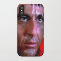scarface iPhone & iPod Cases featuring Al Pacino @ Scarface #1 by Gabriel T Toro