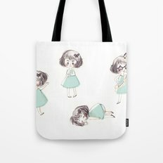 Funny child Tote Bag