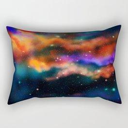 Galactic Nebula (Dark Version) Rectangular Pillow