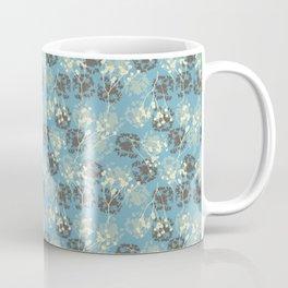Seeds on blue Coffee Mug