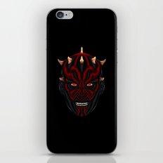 Star . Wars - Darth Maul (Extra Sith Edition) iPhone & iPod Skin