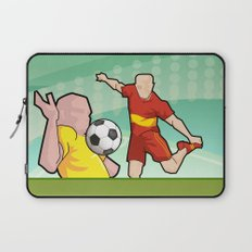 Soccer game Laptop Sleeve