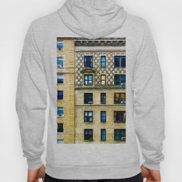 New York City Apartment Building Hoody