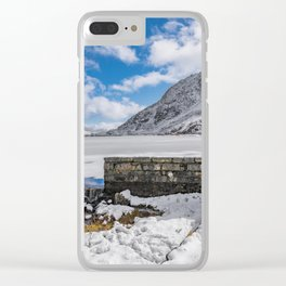 Weir At Ogwen Lake Clear iPhone Case
