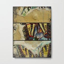 Buttefly Fun Metal Print