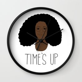 Oprah - Time's Up Wall Clock