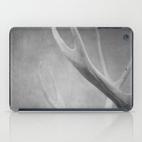 antlers iPad Cases featuring Antlers by Bella Blue Photography