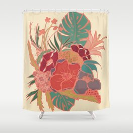Vintage Floral Tropical - Market + Supply Shower Curtain