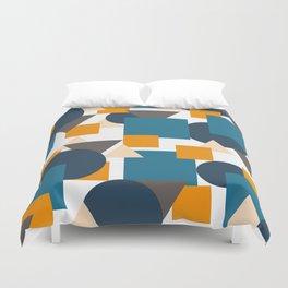 Geometric Mixture Duvet Cover