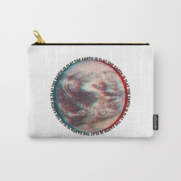 Ce N'est Pas Plat [This is Not Flat] Carry-All Pouch