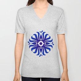 Mandala for the good communication Unisex V-Neck