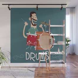 Drums! Wall Mural
